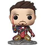 Funko Pop! Avengers Endgame: I Am Iron Man Glow-In-the-Dark Collectible Figures, Multicolor, One-Size