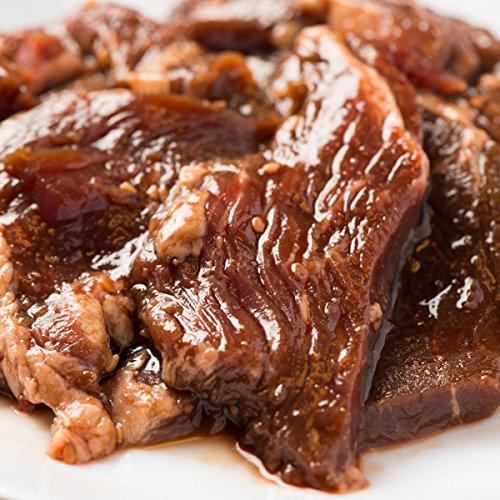 楽天ハラミランキング第1位の極厚秘伝のタレ漬け 牛ハラミ【1kg 約4-6人前】はらみ サガリ さがり 焼肉 焼き肉 bbq バーベキュー おつまみ セット 厚切り 1キロ 業務用 訳あり 焼肉セット
