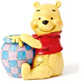 Disney Traditions Winnie The Pooh with Honey Pot Figurine
