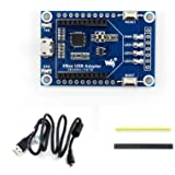 Waveshare XBee USB Adapter USB Communication Board with Xbee Interface USB Interface Supports XBee Connectivity Onboard Butto
