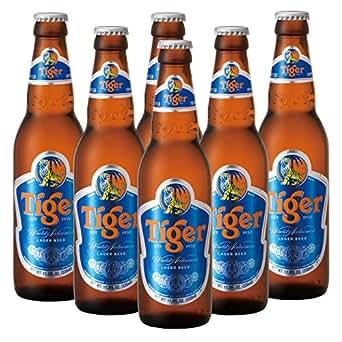 [シンガポールお土産] タイガービール 6本セット (海外 みやげ シンガポール 土産): 食品・飲料・お酒