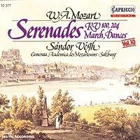 Serenades K.100, K.204 / March / Dances by Mozart Serenades