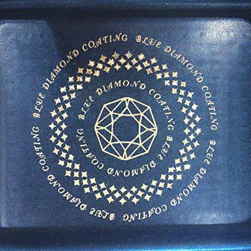 パール金属 卵焼き フライパン 13×18cm IH対応 玉子焼き器 ライズ ブルーダイヤモンドコート HB-323