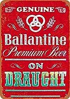 Ballantine Beer ティンサイン ポスター ン サイン プレート ブリキ看板 ホーム バーために