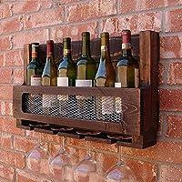 ワイングラスラック、ワイングラスラック、シャンパングラスラック、ガラス製品ラックサイズ:L60 * W12 * H35cm