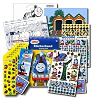 Thomas the Train Stickers Activity Set Bundle with Stickers Activities and Large Specialty Stickers [並行輸入品]