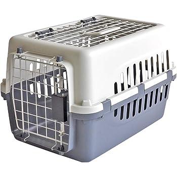 リニューアル【 IATA 基準クリア】ペットキャリーバッグ50 グレー 猫用・小型犬用・小動物用にも(ねこ・猫・ネコ・いぬ・犬・イヌ)