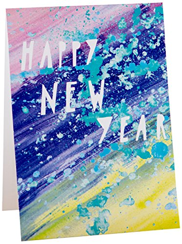 Owl Workshop(イエローオールワークショップ) Yellow Owl Workshop PAINT HAPPY NEW YEAR カード