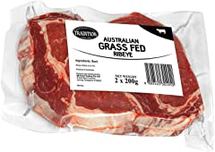 Tradition Australian Grass Fed Beef Ribeye, 200g (Pack of 2)- Chilled