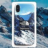 Supreme+ TNF シュプリーム+TNF iphoneケース 個性デザイン スマホケース (iphone7/8)