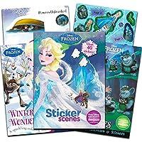 (Super Set (3 Books)) - Disney Frozen Colouring Book Super Set -- 3 Deluxe Frozen Colouring Books with Frozen Stickers (Super Set)