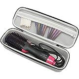 (Gray) - Hard Travel Case for Revlon One-Step Hair Dryer & Volumizer & Styler Carrying Case Grey