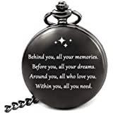 LEVONTA to My Son Pocket Watch from Mom to Son Love Mom Mother Son Gifts Birthday