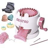 Knitting Machine, Smart Weaver Knitting Round Loom, Knitting Board Rotating Double Knit Loom Machine, 22 Needles Knitting Loo
