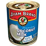 Ayam Brand Coconut Milk | 100% Natural | High Quality | Halal & Healthier Choice | Full of Flavour | 100% Fresh Ripe Coconuts