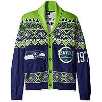 Seattle Seahawks 2015 Ugly Cardigan Large
