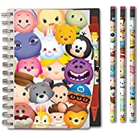 Disney Tsum Tsum Notebook Pen and Pencil Set with Case