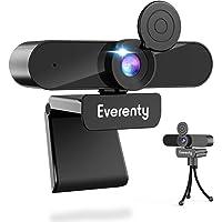【2K高画質 ウェブカメラ Webカメラ 400万画素 1440P 90°広角レンズ 3D双方向ノイズキャンセリング・マ…