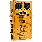 Pyle-Pro PCT40 12 Plug Pro Audio Cable Tester,Yellow