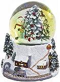 あまの スノードーム クリスマス L スノーマン XSA-0322