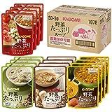 カゴメ 野菜たっぷりスープ SO50 160g×4種×各4袋