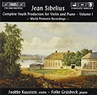 Complete Youth Production For by JEAN SIBELIUS (1999-11-19)