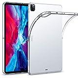 ESR iPad Pro 12.9 ケース 2020 クリア TPU背面カバー 第二世代 Pencilワイヤレス充電対応 スリムフィット リバウンドソフトシェルケース iPad Pro 12.9インチ 2020用 クリア