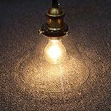 Fuloon ペンダントライト レトロ ガラス 真鍮 シーリングライト 照明 北欧風 シンプル おしゃれ 可愛い 天井照明 ダイニング用 食卓用 キッチン 玄関 廊下