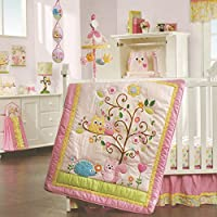 Lambs & Ivy Dena Happi Tree 8 Piece Bedding Set [並行輸入品]