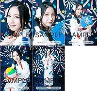松岡菜摘 公式生写真 HKT48 2016年07月 個別 夏祭り 5枚コンプ
