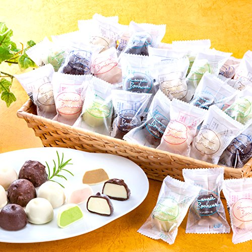 チョコアイスボールセット65粒(5種類)
