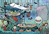 300ピース ジグソーパズル ゲゲゲの鬼太郎 妖怪の世界へようこそ 【光るパズル】(26x38cm)