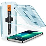 Spigen EZ Fit Tempered Glass Screen Protector for iPhone 13, iPhone 13 Pro - 2 Pack
