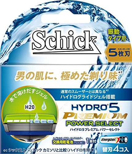 シック ハイドロ5プレミアム パワーセレクト替刃(4コ入)
