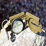 Best Lensatic Military Compass For Easy Map Navigation - Professional Grade Survival & Mapping Gear by Under Control Tactical