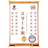 スマート米:青森県 つがるロマン (無洗米玄米2kg):残留農薬不検出