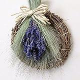 A plus floral art ナチュラル ドライフラワー スワッグ Lavendel ラーヘンデル インテリア ブーケ 壁掛け ラベンダー