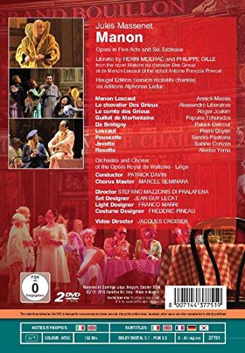 Details about Massenet: opera