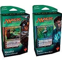 Magic The Gathering MTG-XLN-PD-EN Ixalan Planes Walker Deck Jace Or Huatli Trading Card Game