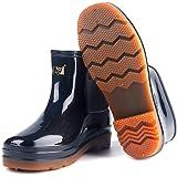 [3531] 新款男式PVC低筒雨鞋1304防滑牛筋?低?雨靴工作水鞋批?零售