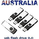 Lot/Bulk - (5 Pack) 1GB-64GB Black USB Flash Memory Stick Thumb Pen Drive U Disk Storage (5 Pack 2GB)