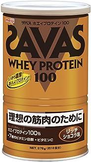 ザバス(SAVAS) ホエイプロテイン100+ビタミン リッチショコラ味 【18回分】 378g