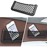 Docooler Car Net Pocket Storage Bag Seat Side Back Storage Net Bag Phone Holder Pocket Organizer 1pcs