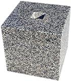 白御影石G623の束石、沓石 上面7寸、高さ7寸