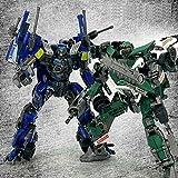 JQ trend おもちゃ 合金 変形 ロボット The Dream Factory GOD-06 & GOD-07 Deluxe バージョン 2体セット (画像色)