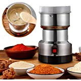AJH Grain Mill Grinder Electric, Grain Grinder, Multifunction Smash Machine Grinder for Home Herbs Spices Nuts Grains Coffee