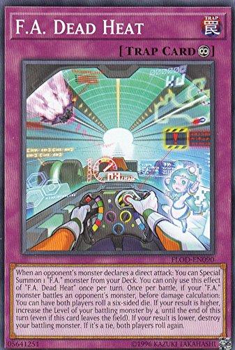 遊戯王 FLOD-EN090 F.A. Dead Heat(英語版 Unlimited Edition ノーマル) フレイム・オブ・ディストラクション