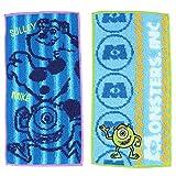 モンスターズインク タオル ポケットタオル 2枚組 アメイズ 約20×10cm マルチカラー