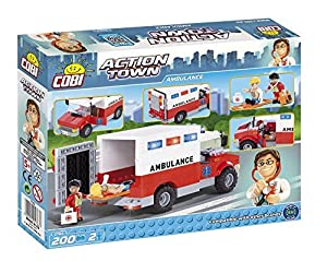 COBI Action Town Ambulance Building Kit [並行輸入品]