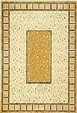 スミノエ モケット織 カーペット リバージ 195×195 #14040 6121 ベージュ